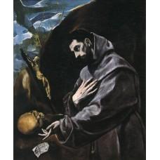 St Francis Praying
