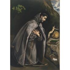 St Francis Venerating the Crucifix