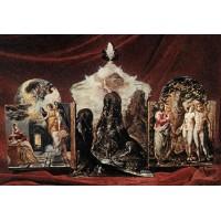The Modena Triptych (back panels)