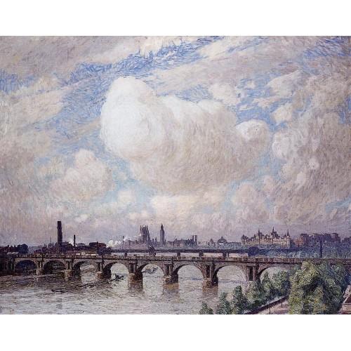 Waterloo Bridge in the Sun