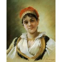 A Woodland Maiden