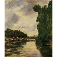 A River near d'Abbeville