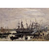 Camaret Fishing Boats at Dock