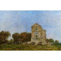 Deauville Ruins of the Chateau de Lassay