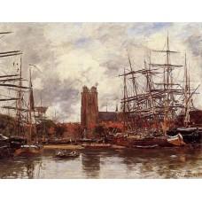 Dordrecht View of the Port