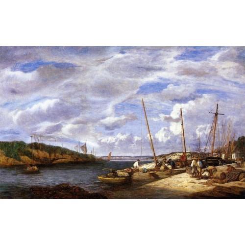 Douarnenez Fishing Boats at Dockside