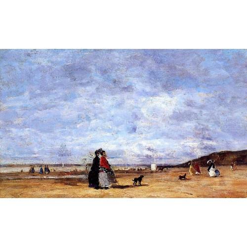 Elegant Women on the Beach