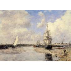 Estuary at Trouville