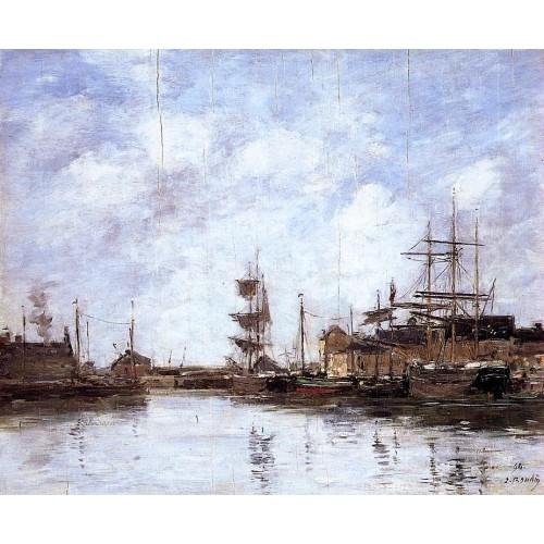 Fecamp the Inner Harbor