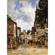 Fervaques a Village Street