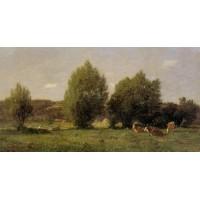 Landscape near Honfleur 1