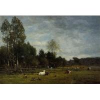 Landscape near Honfleur 2