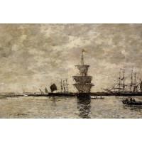 Le Havre the Quarentine Basin