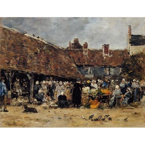 Market at Trouville 2