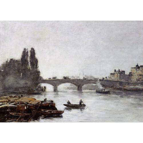 Rouen the Pont Corneille Fog Effect