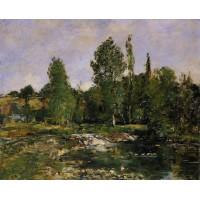 Saint Cenery a Pond