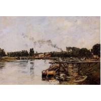 Saint Valery sur Somme the Abbeville Canal 1