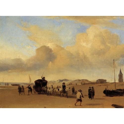 The Beach at Scheveningen 2