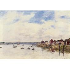 The Seine at Quillebeuf