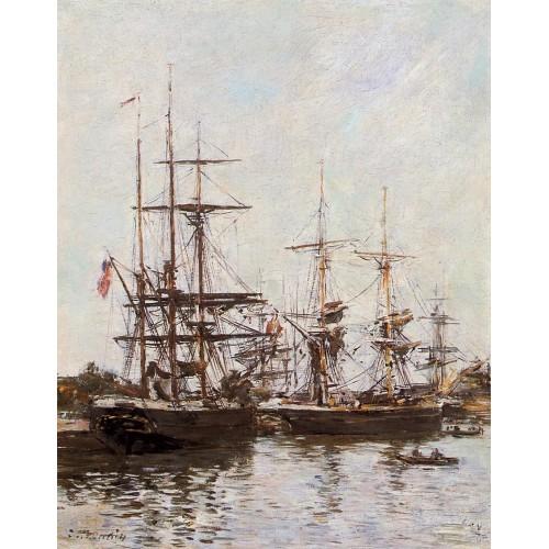 Trouville Harbor