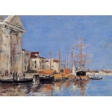 Venice the Customs House