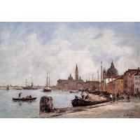 Venice the Dock of the Giudecca