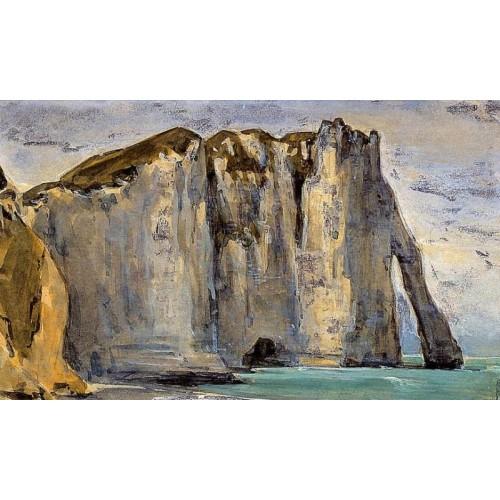 Cliff at Etretat