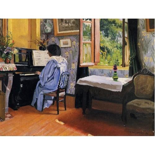 Lady at the Piano
