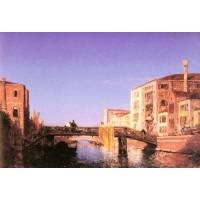 Le Pont de bois a Venise