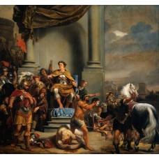 Consul Titus Manlius Torquatus Beheading His Son