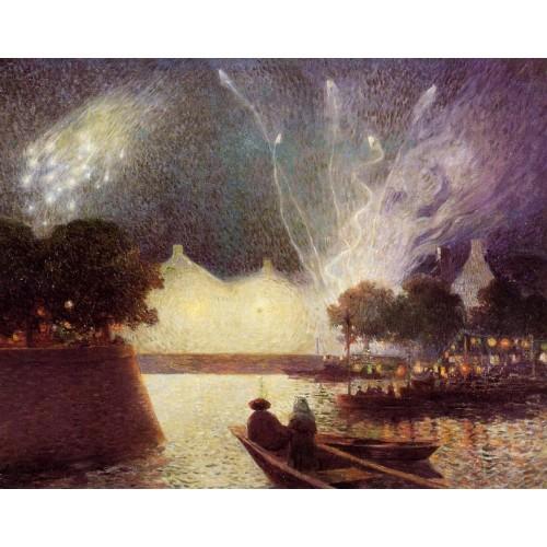 Fireworks over the Port