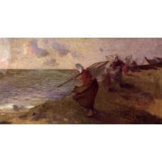 Shrimp Fisherwoman