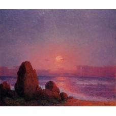 Sunset of the Breton Coast