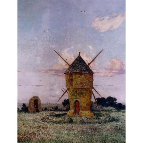 Windmill near Guerande