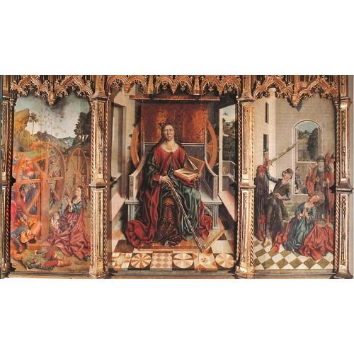 Triptych of St Catherine