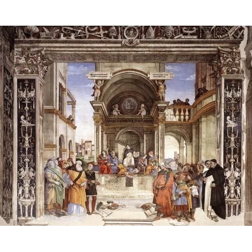Triumph of St Thomas Aquinas over the Heretics