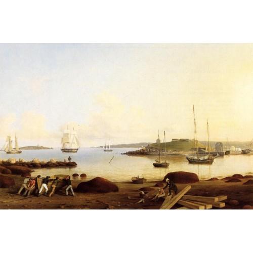 The Fort and Ten Pound Island Gloucester Massachusetts
