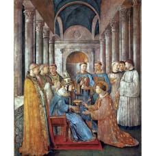 St Sixtus Ordains St Lawrence