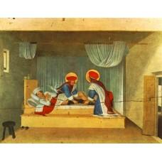 The Healing of Justinian by Saint Cosmas and Saint Damian