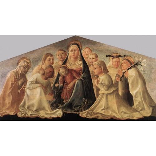 Madonna of Humility (Trivulzio Madonna)