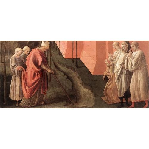 St Fredianus Diverts the River Serchio