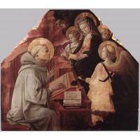The Virgin Appears to St Bernard