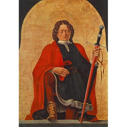 St Florian (Griffoni Polyptych)