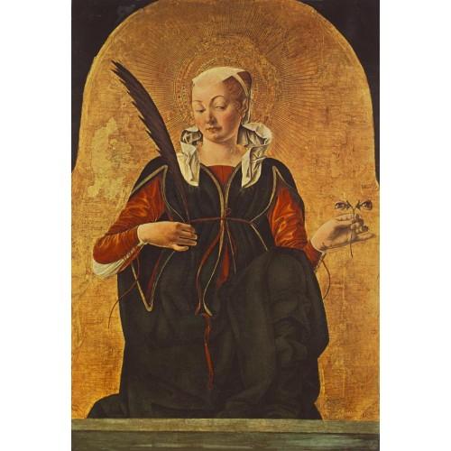 St Lucy (Griffoni Polyptych)