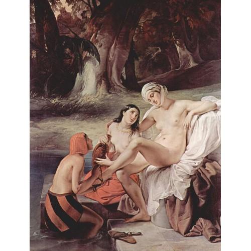 Bathing bathsheba 1834