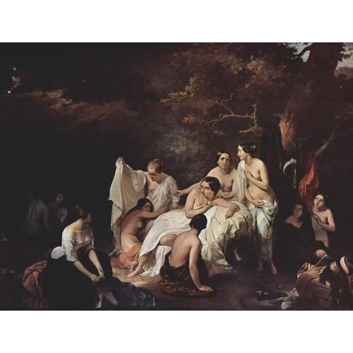 Bathing nymphs 1831
