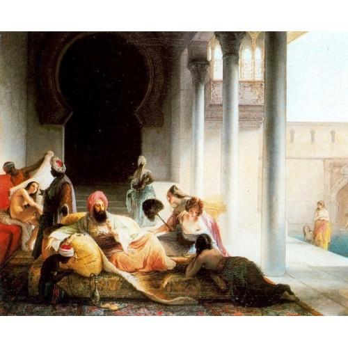 Inside the harem 1867