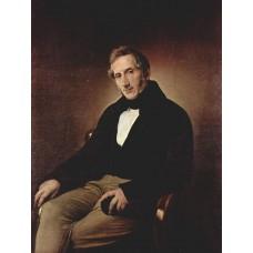 Portrait of alessandro manzoni 1841