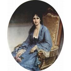Portrait of antoniet negroni prati morosini 1872