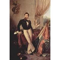 Portrait of conte baglioni